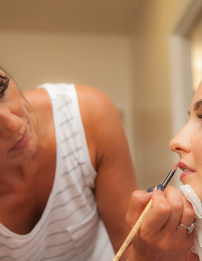Makeup for weddings and tv
